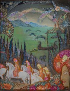 Verzauberter Wald, Diptychon