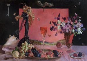 Burgunder Rose
