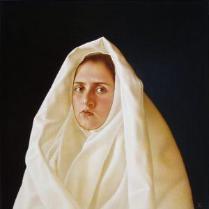 Weißes Tuch