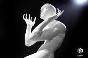Skulptur Angst aus der Serie ``in jedem von uns``