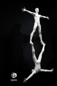 Skulptur Harmonie aus der Serie ``in jedem von uns``