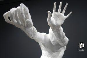 Skulptur Widerstand aus der Serie ``in jedem von uns``