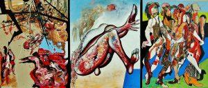 Triptychon Emigrant